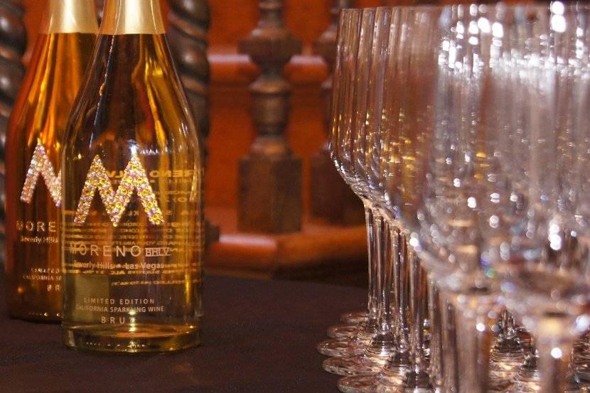 Champagne by Moreno