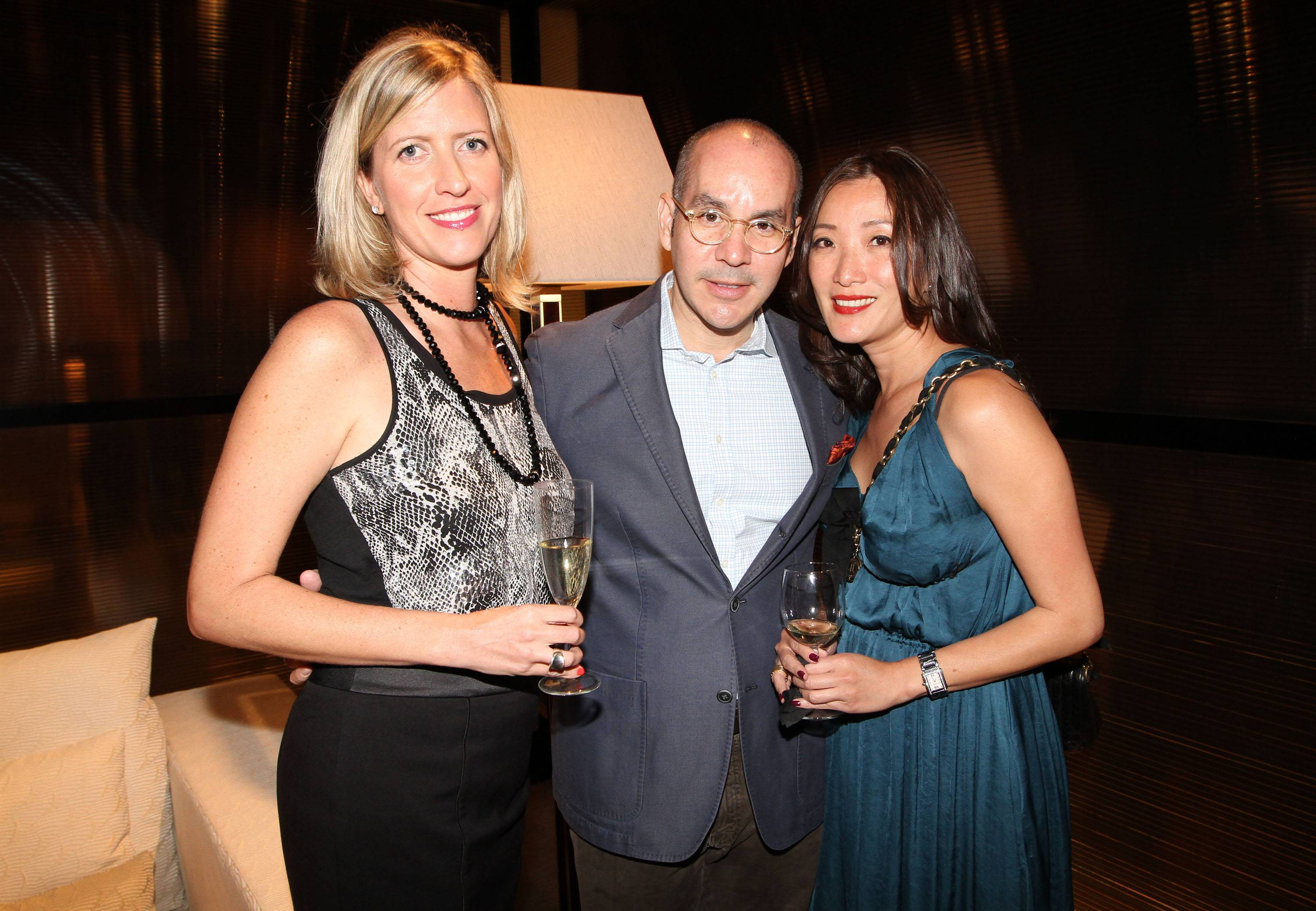 Chelsea Jennemyr, Juan Carlos Mayol and Susu Cheung