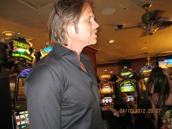 """Chris Browning films """"Now You See Me"""" at the Golden Gate Casino, Las Vegas, 4.10.12"""