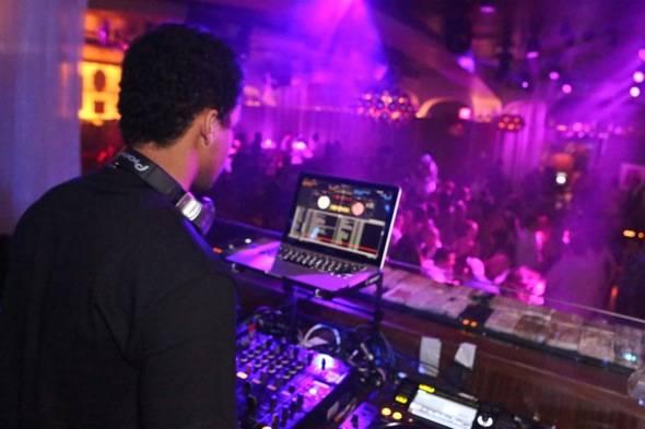 DJ Connor Cruise during set at Hyde Bellagio, Las Vegas 4.20.12 (2)