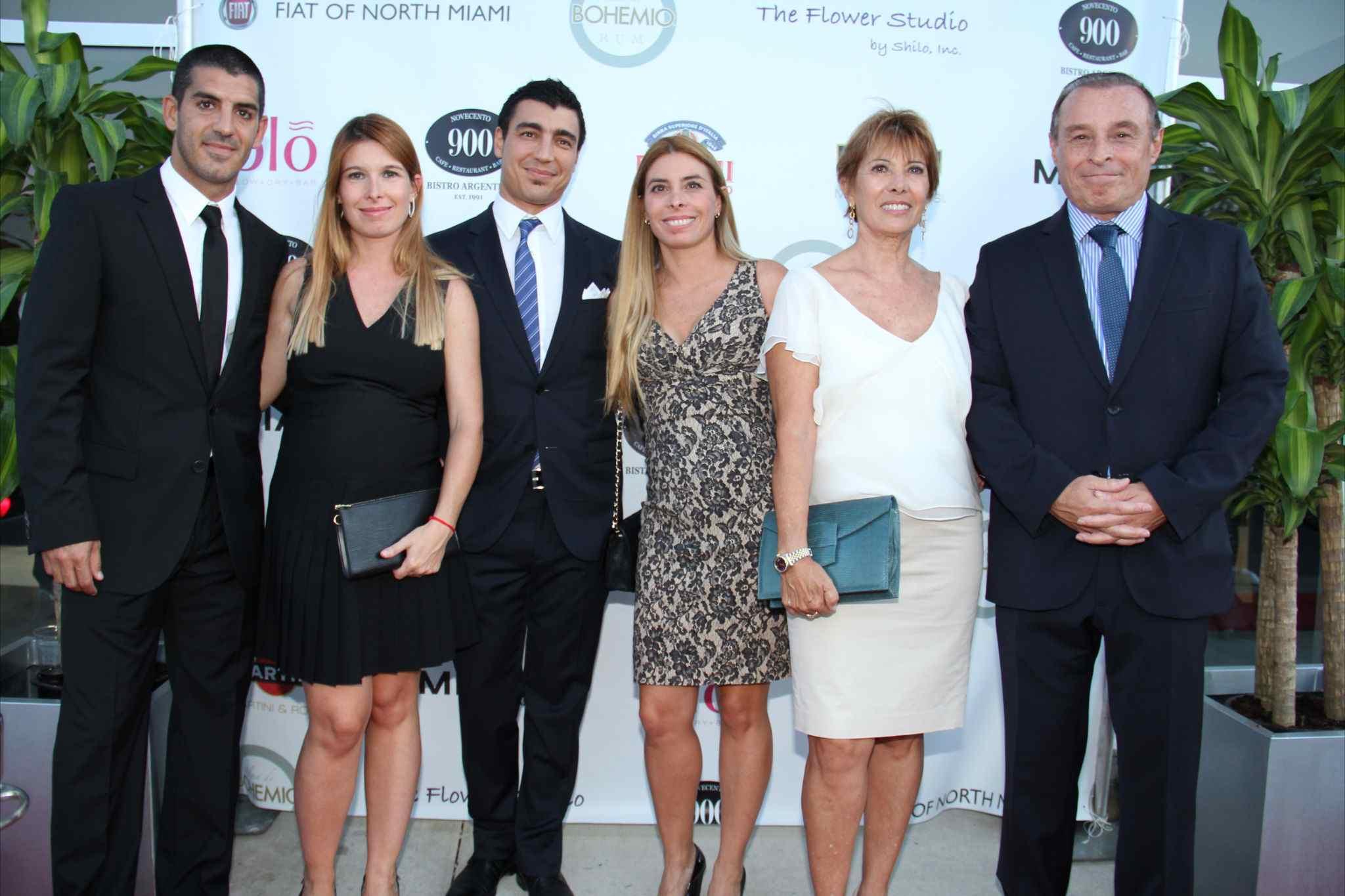 Diego Cassino, Carolina Belcastro, Diego Sanchez Navarro, Na