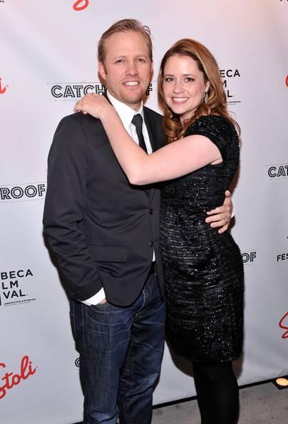 Director Lee Kirk, Jenna Fischer