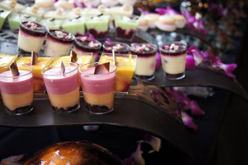 Food by Chef James Aptakin