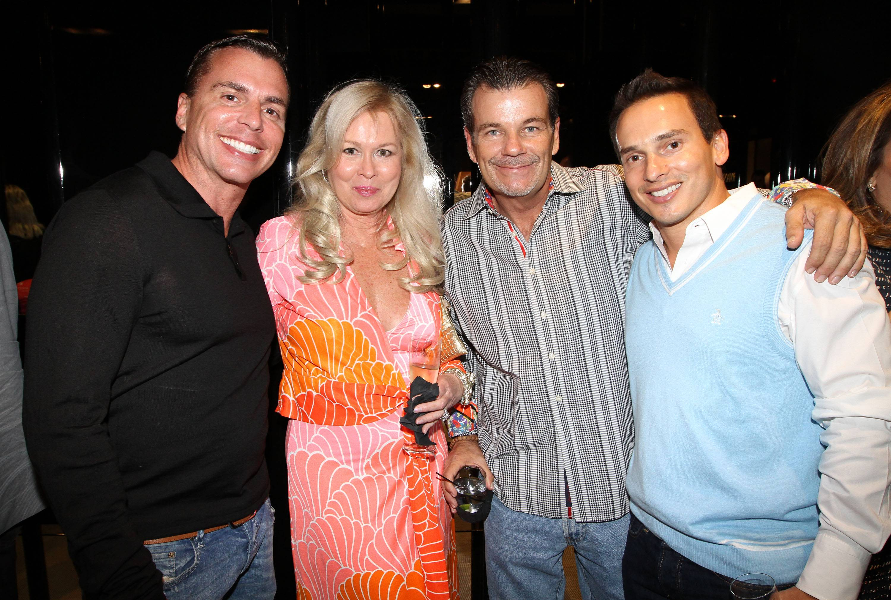 Frank Navarro, Kathy Snow, Gene Grimsley and Julio Hernandez