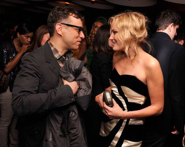 Fred Armisen and Malin Akerman