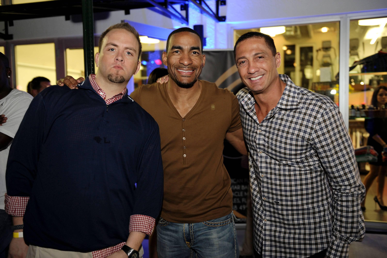 Gui Socarras, Ed Downs & friend