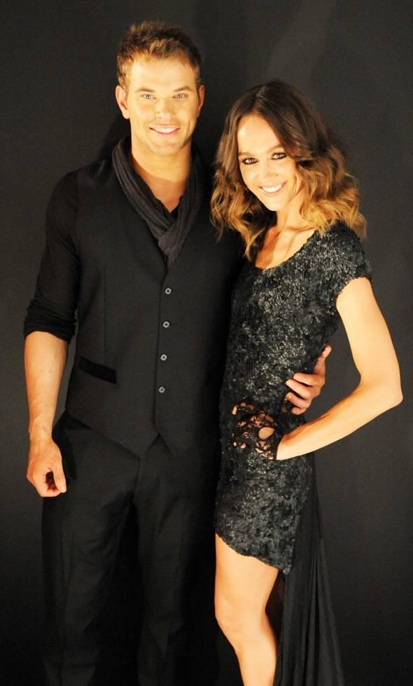 Kellen Lutz and girlfriend Sharni Vinson  at  Marquee The Star in Sydney, Australia