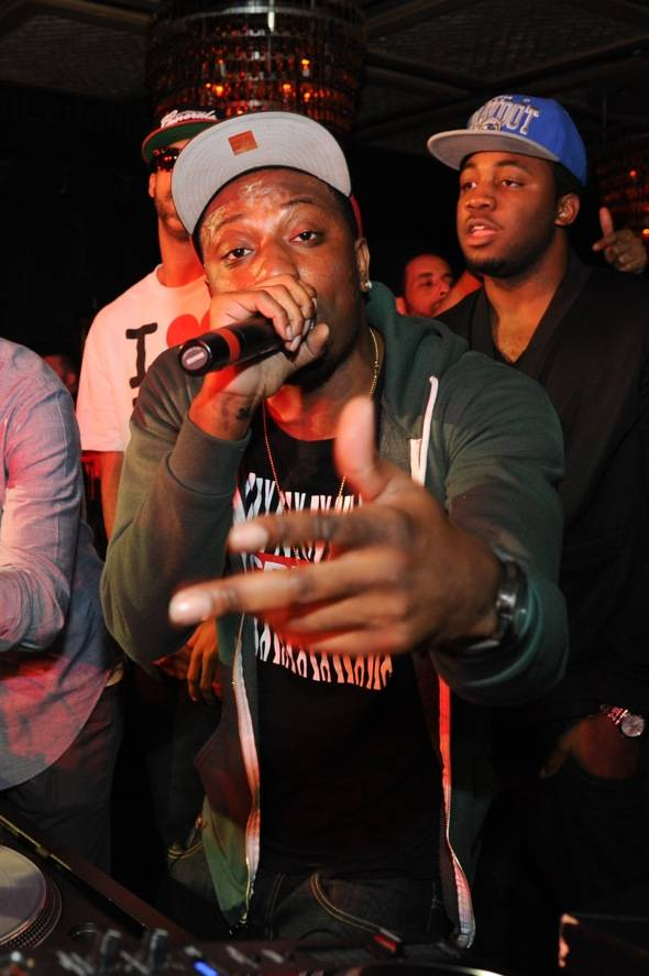 Hip Hop artist, Chiddy of the group Chiddy Bang, performs at LAV