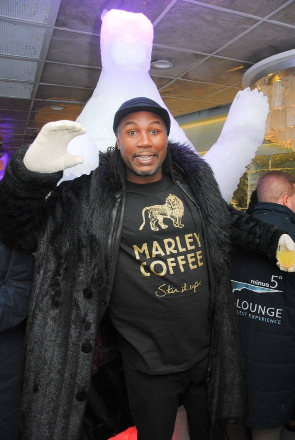 Lennox Lewis at Minus5