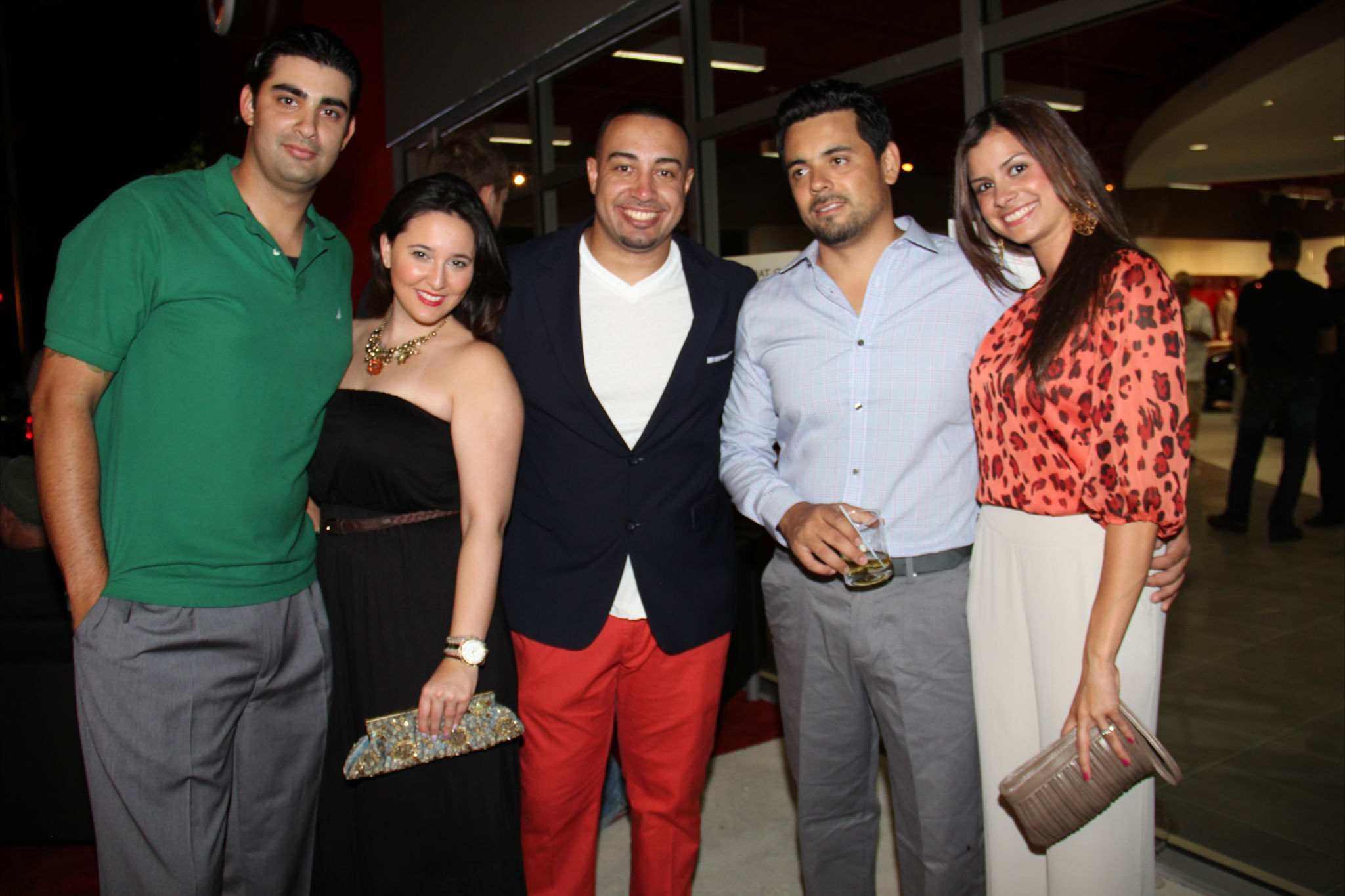 Luis Perez, Stephanie Perez, Danny Fonticiella, Erick Vargas
