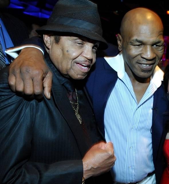 Mike with Joe Jackson