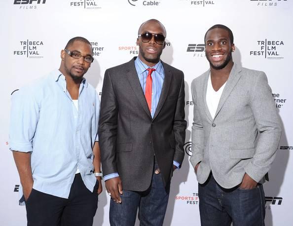 NFL player Ahmad Bradshaw, Olympian LaShawn Merritt, and Prince Amukamara