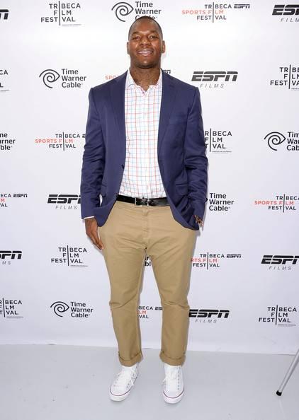 NFL player Martellus Benn
