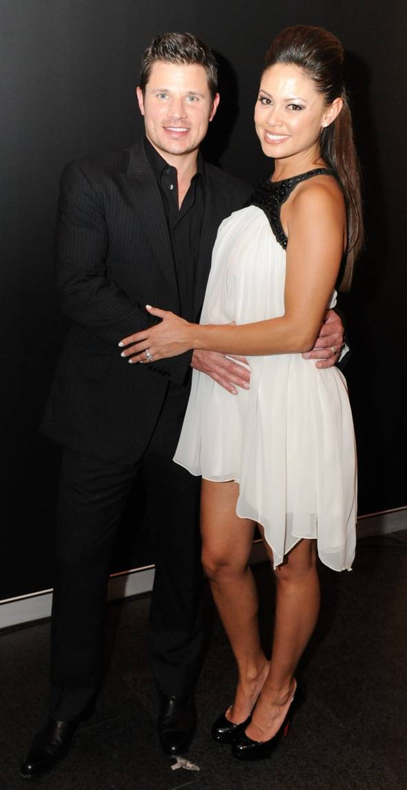 Nick and Vaness Lachey at Marquee —The Star in Sydney, Australia
