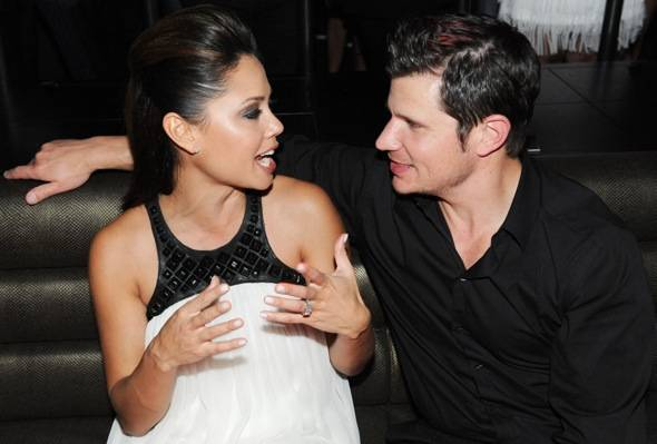Nick and Vanessa Lachey  at  Marquee The Star in Sydney, Australia