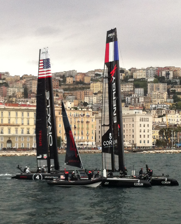 Oracle Spithill and Team France Energy