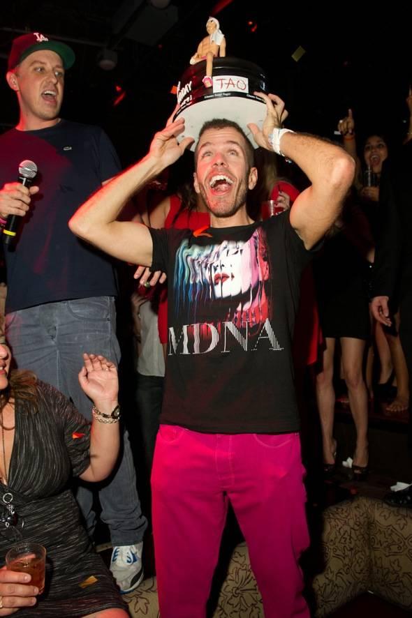 Online personality, Perez Hilton, celebrates his birthday at TAO