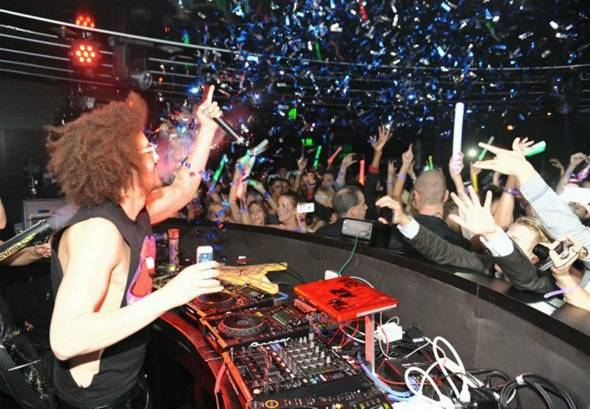 Redfoo at Marquee —The Star in Sydney, Australia.