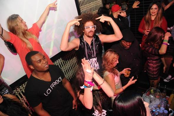 Redfoo at La Freak at LAVO