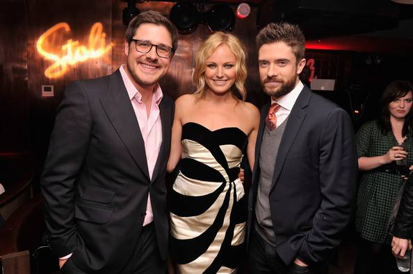 Rich Sommer, Malin Akerman, and Topher Grace