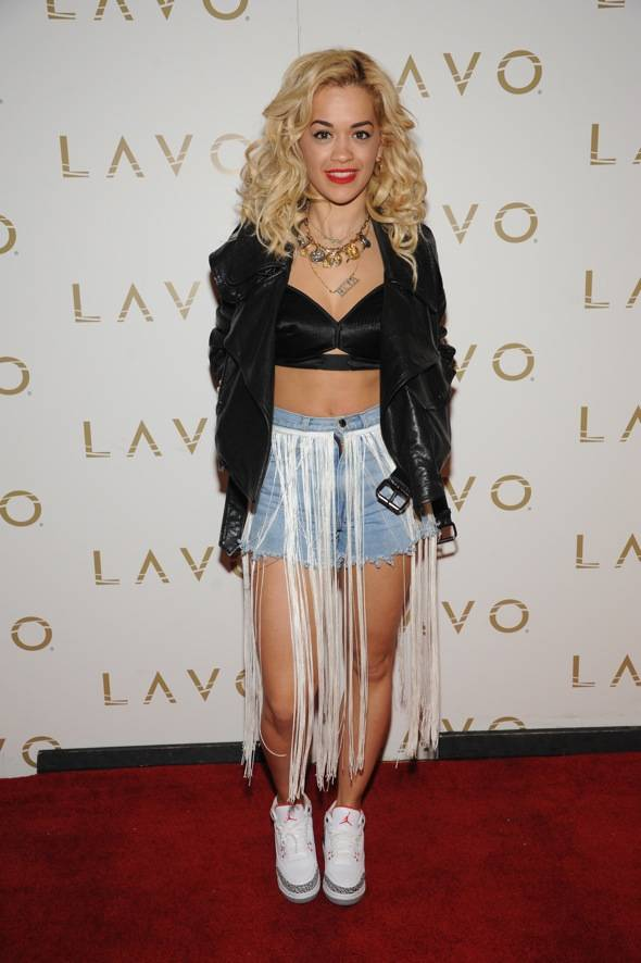 Rita Ora at LAVO_red carpet