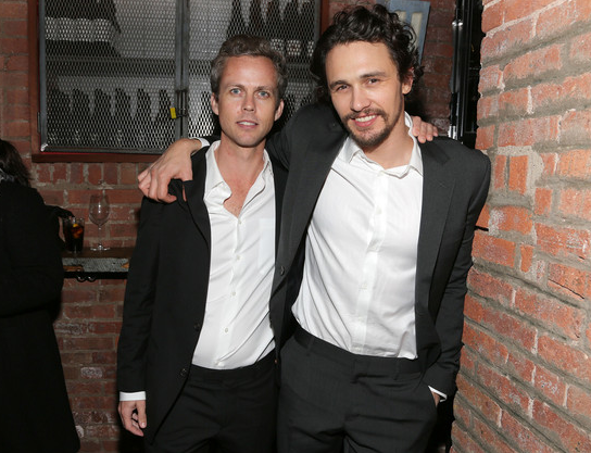 Director Ian Olds and James Franco