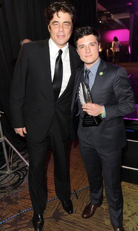 Benicio Del Toro & Josh Hutcherson
