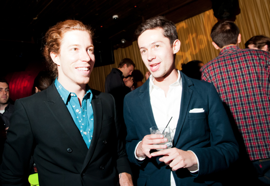 Pro-Snowboarder/Skateboarder Shaun White and Co-Producer Guillermo Ortiz Pichardo