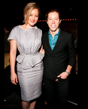 Abbie Cornish and Shaun White