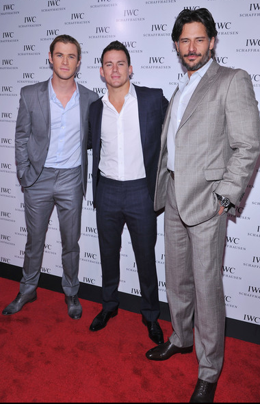 Channing Tatum, Chris Hemsworth, Joe Manganiello
