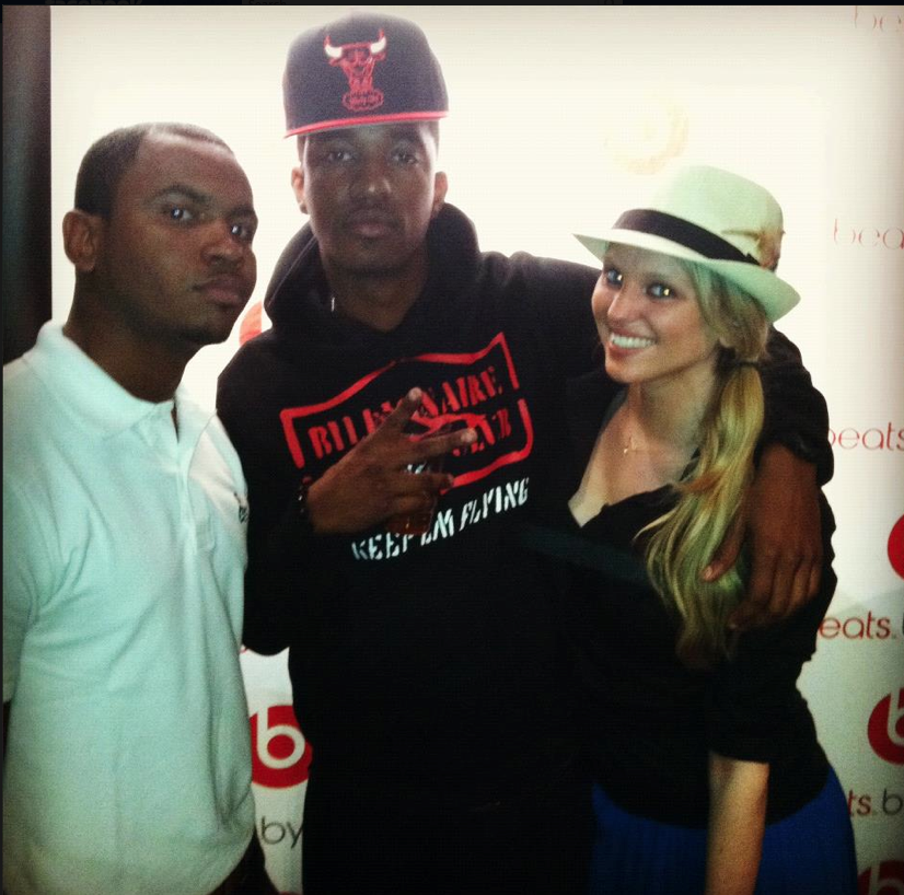 Haute Living's Franklin Middleton and Ashley Joy Parker with Paypa