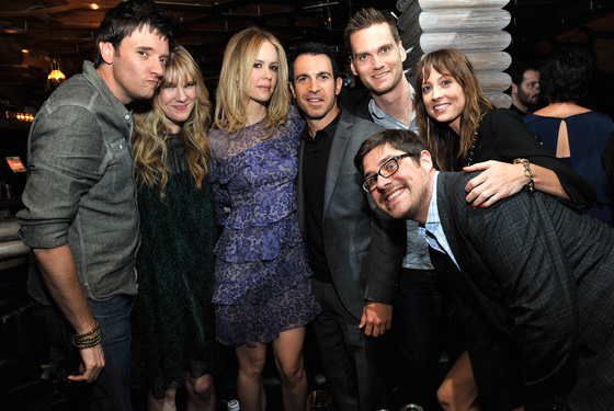 Actress Lily Rabe, actress Sarah Paulson, actor Chris Messina, filmmaker Tim O'Brien, actress Alexie Gilmore, and actor Rich Sommer