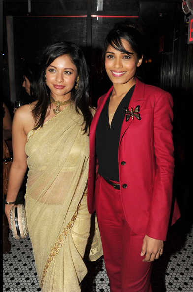 Pooja Kumar and Freida Pinto