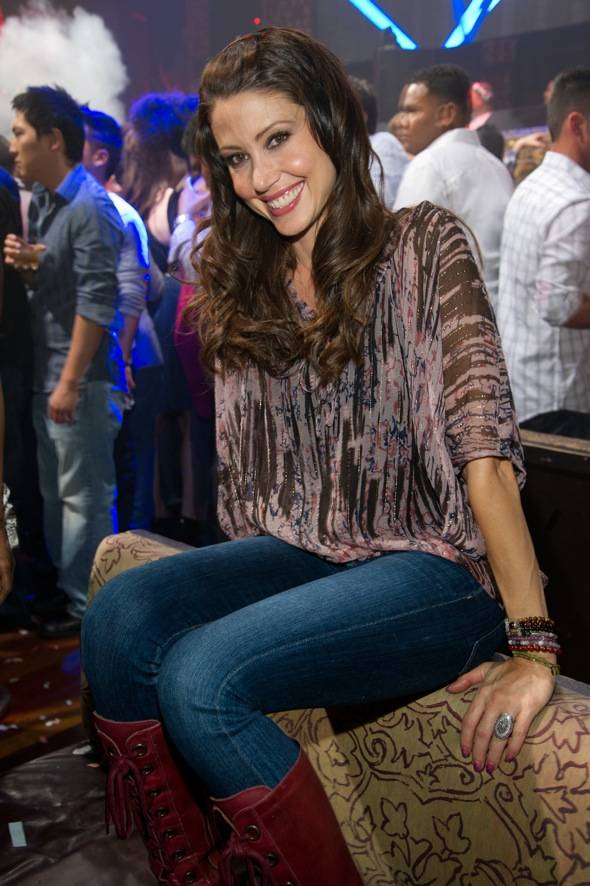 Actress, Shannon Elizabeth, of