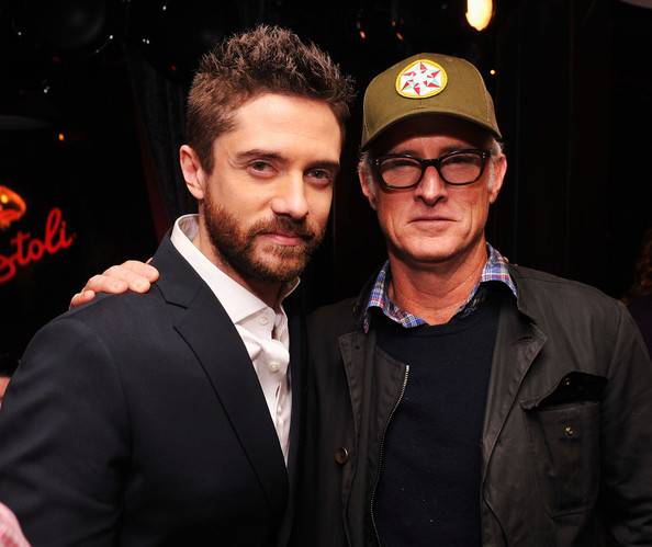Topher Grace and John Stattery