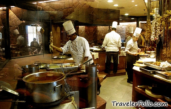 Award Winning Bukhara Restaurant Of Itc Maurya Hotel In