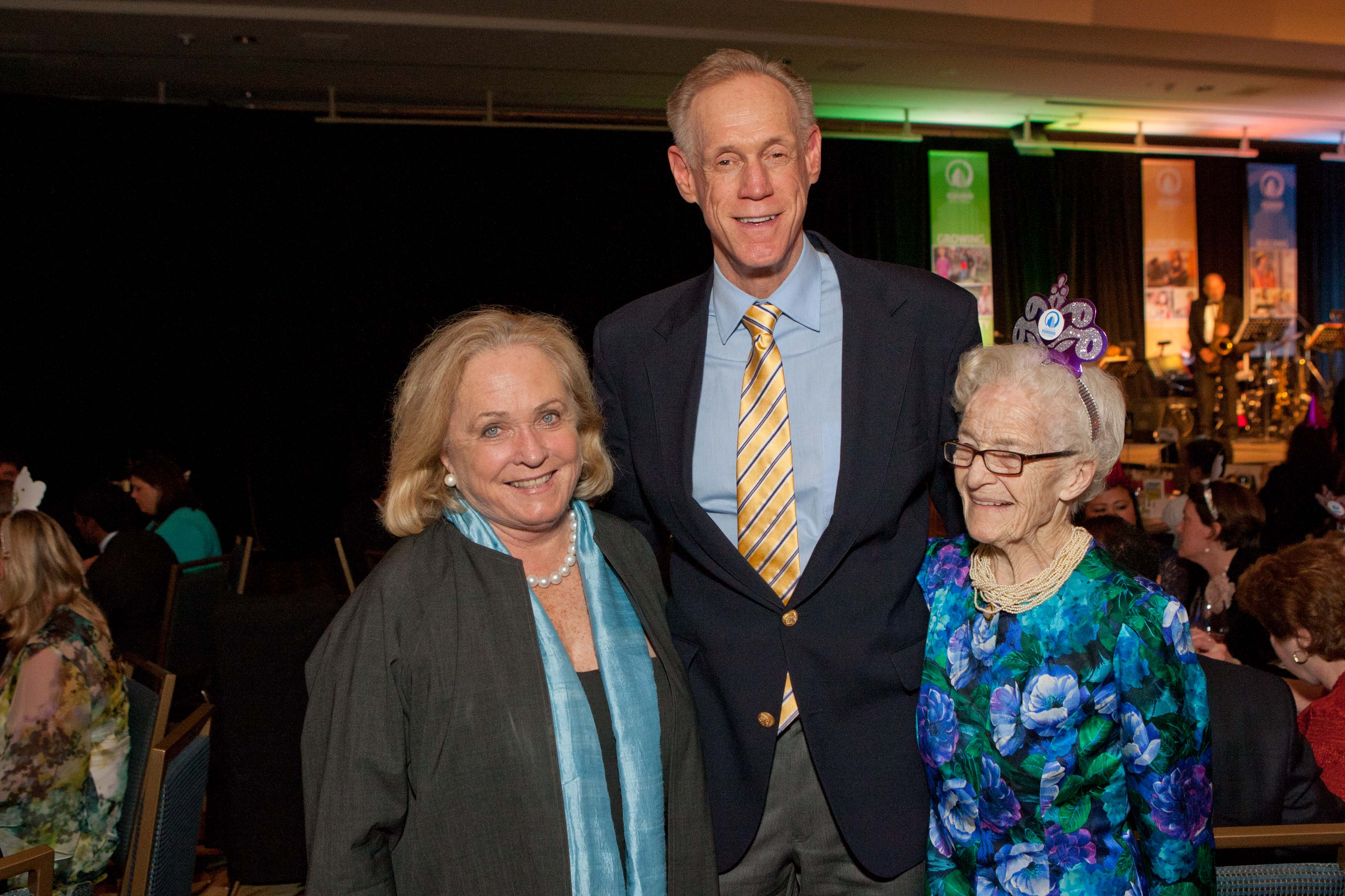 Maura Morey, Tom Kelley, Betty Burnham
