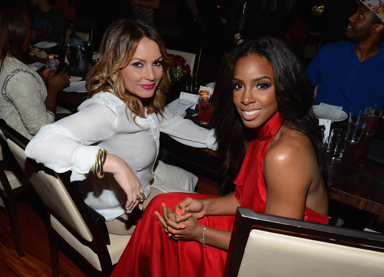 Angie Martinez and singer Kelly Rowland