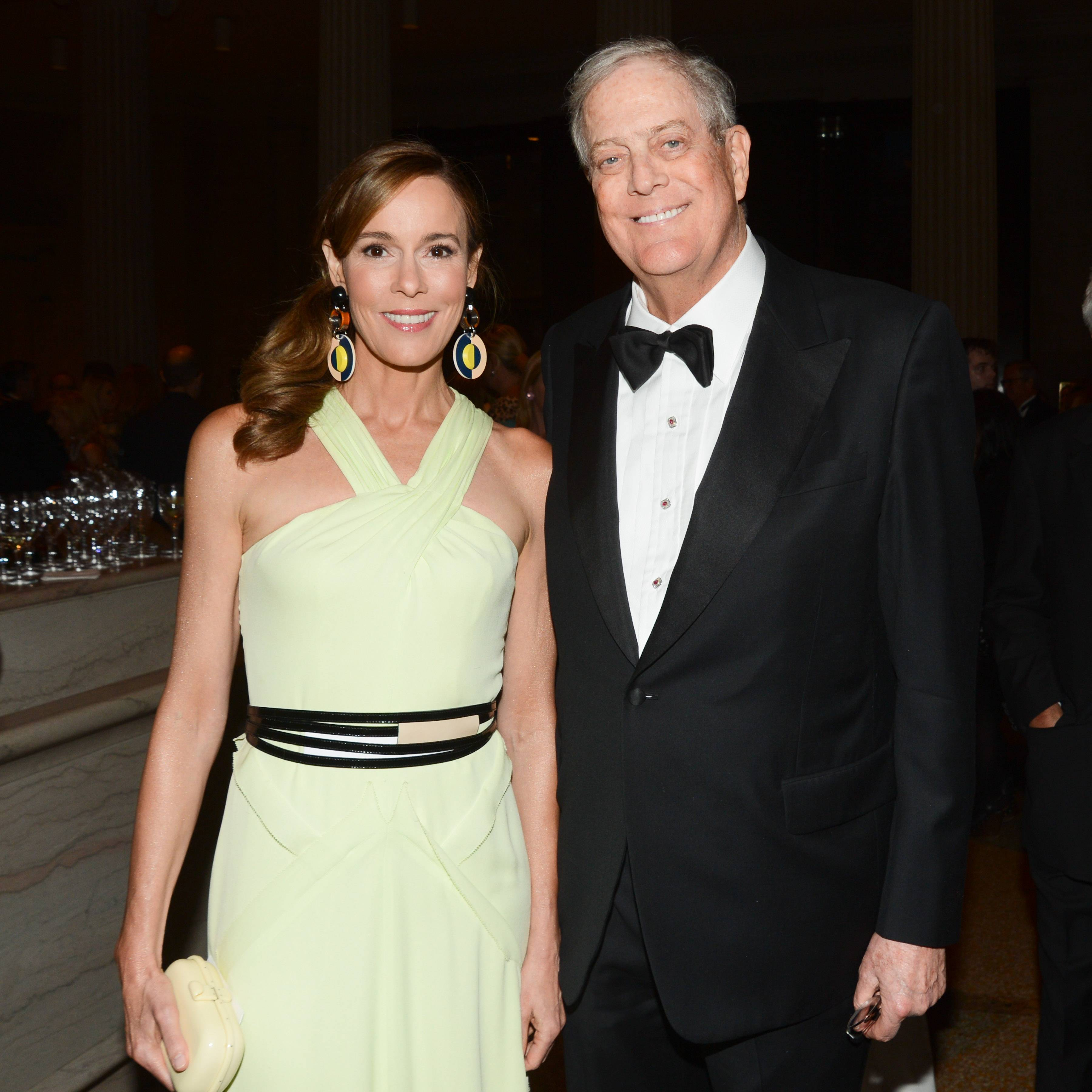 Julie Koch, David Koch