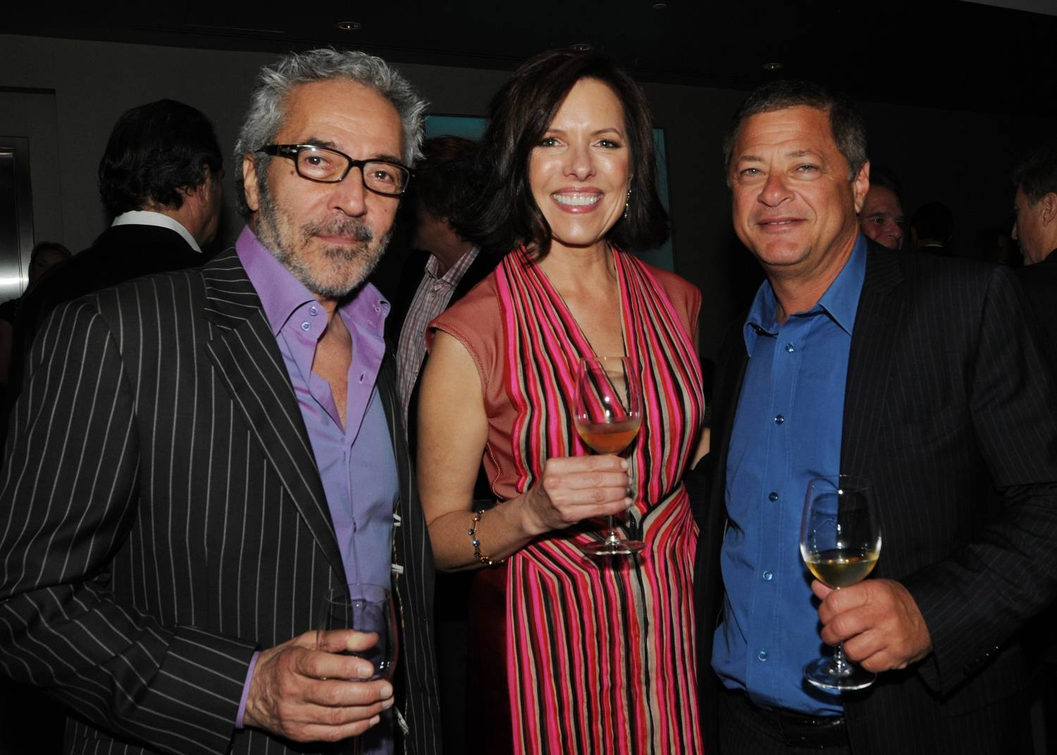 Arthur Sarkissian (producer of RUSH HOUR), Ann Colgin (planning committee member and vintner of Colgin Cellars), Michael Rotenberg (TV and film producer)