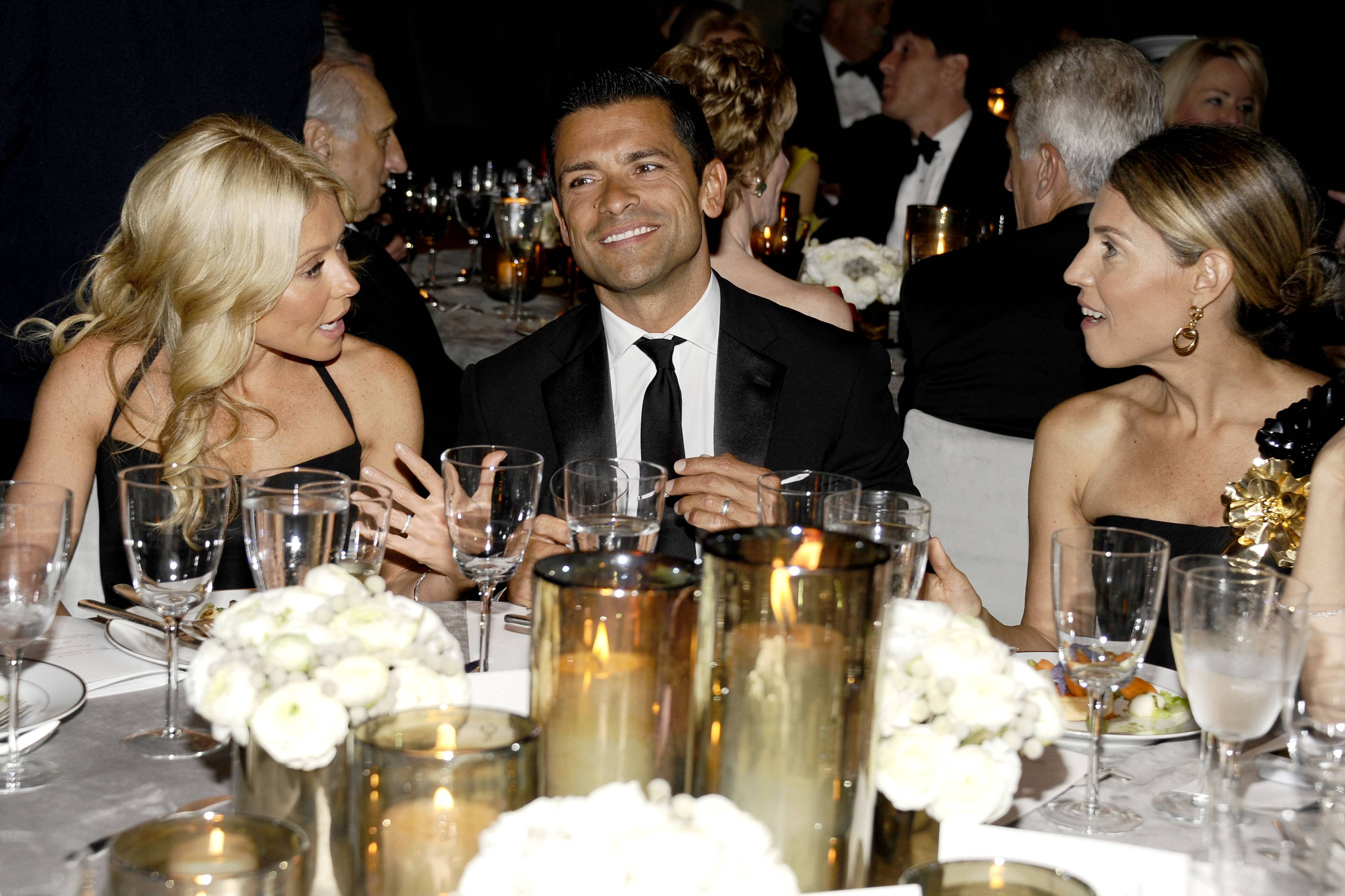 Kelly Ripa, Mark Consuelos, Caryn Zucker