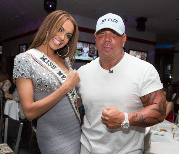 Miss Nevada 2012 Jade Kelsall and Steve Martorano