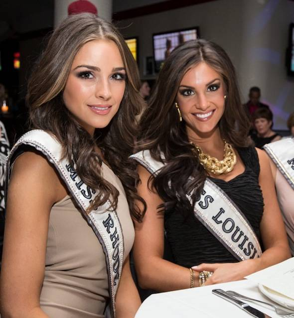 2012 MISS USA contestants