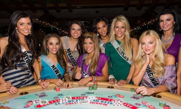 2012 MISS USA contestants
