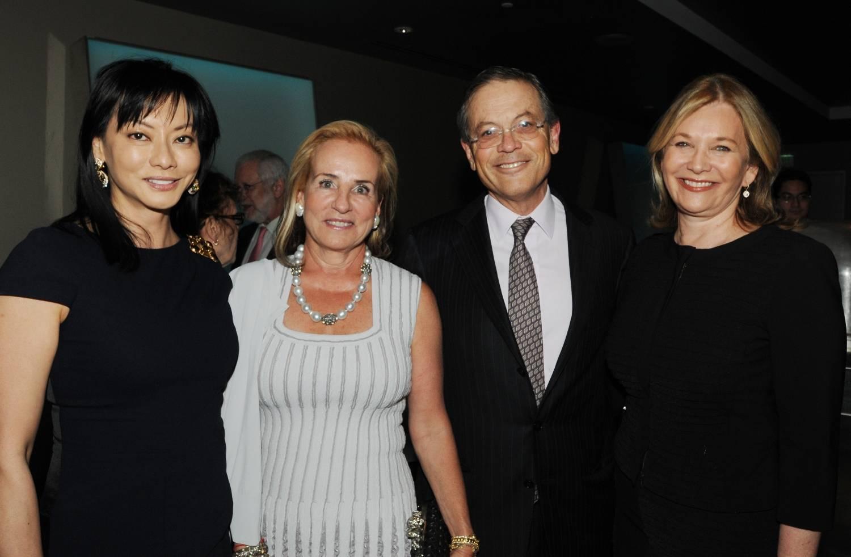 Florence Sloan (producer), Rebecka Belldegrun, Arie Belldegrun (physician), Nadine Schiff Rosen (executive producer of MADE IN AMERICA and author)