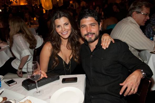 Ali Landry and husband Alejandro Monteverde at LAVO