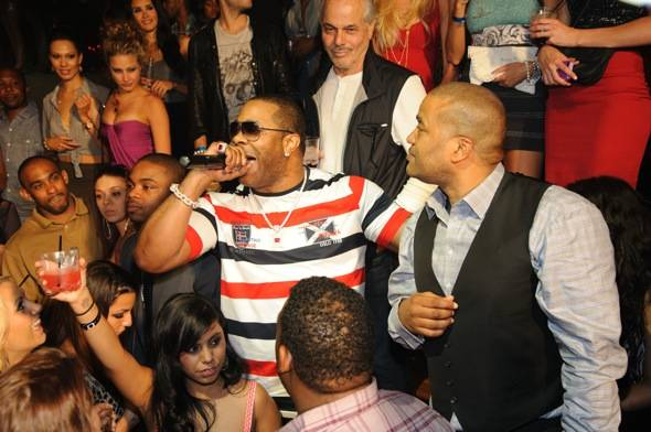 Busta Rhymes and Chris Lighty at TAO