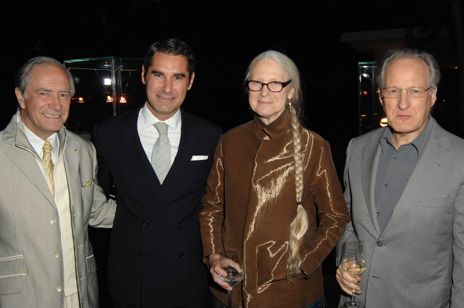Christopher Kip Forbes, Hugues de Pins, Summer and Michael Mann