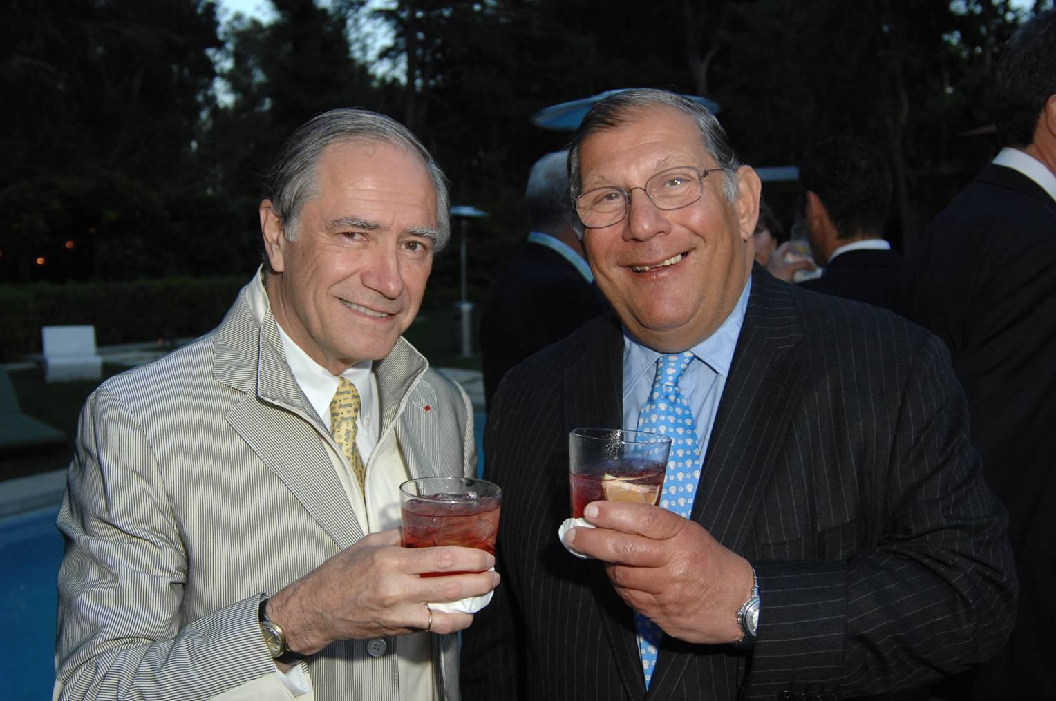 Christopher Kip Forbes and Patrick Gerschel