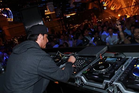 DJ Bad Boy Bill spins at Bazaar